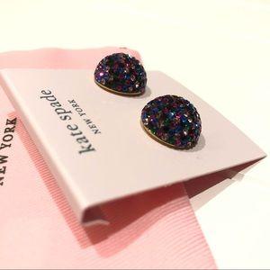 KATE SPADE Rhinestone Earrings ♠️